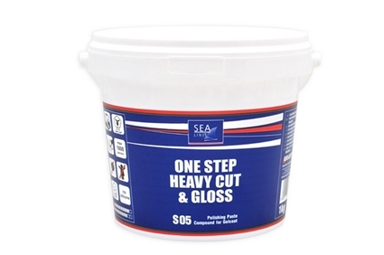 SL POLISH S05 ONE STEP HEAVY CUT & GLOSS 1 KG