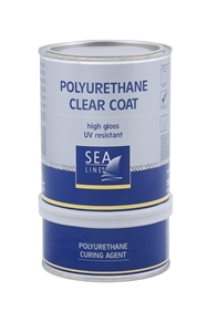 SL CLEAR COAT POLYURETHAAN A+B  750 ML