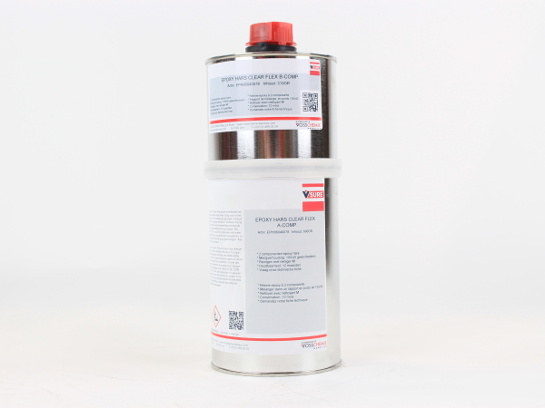 EPOXY HARS CLEAR FLEX SET A+B  1 KG