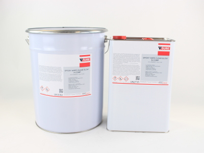 EPOXY HARS CLEAR SLOW A+B SET 30 KG