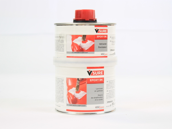 V-SURE EPOXY BK A+B   500 GR